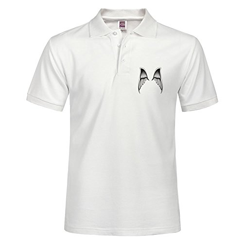 Men Outdoor Sport Wear Angel Wings Polo Shirt Factory Direct Sale Color