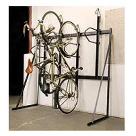 Images for 4 Bike Rack Vertical Locking 72