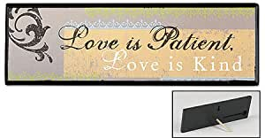 Love Is Patient, Love Is Kind Plaque