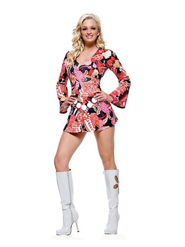 2 PC. Bohemian Go-Go Girl Costume