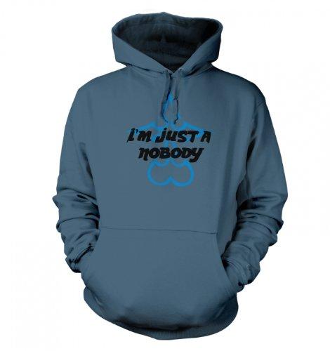 Just A Nobody Hoodie - Japanese Anime Hoodie - Airforce Blue Medium (45