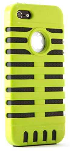 Polaroid Retro Microphone Style Protective Case For Iphone 5 - Retail Packaging - Green