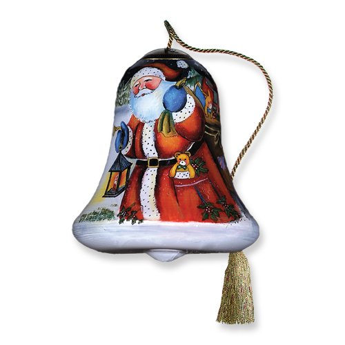 """Ne'Qwa Ornament """"The Joy You Give"""", 3-Inches Tall, Bell Design, Designed by noted artist Susan Winget"""