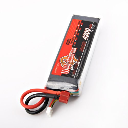 BestDealUSA 11.1V 4200mAh 35C Li-Po 3 Cells Battery For RC Helicopters Toy Cars