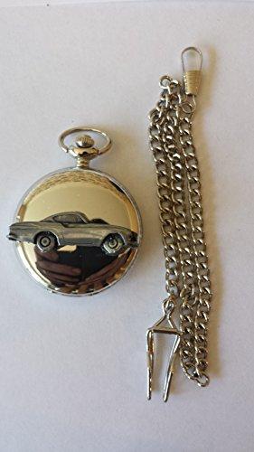volvo-p-1800s-ref279-pewter-effect-emblem-polished-silver-case-mens-gift-quartz-pocket-watch-fob-mad