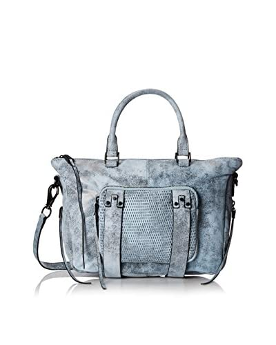 She + Lo Women's Next Chapter Satchel, Blue/Black Perf