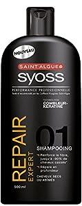Saint Algue - Syoss - Shampooing - Repair Expert - Flacon 500 ml