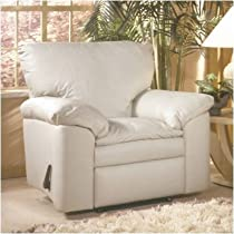 Hot Sale El Dorado Lift Chair Leather: Fashion - Off White