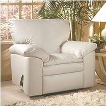 Hot Sale El Dorado Lift Chair Leather: Fashion - Off White