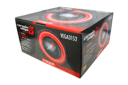Cerwin Vega Vega3152 1600-Watt 15 Dvc 2-Ohm 1800W/500W Rm Power Amplifier