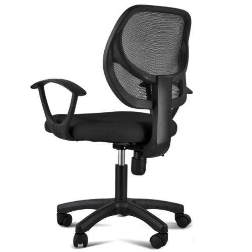 Best Price Gotobuy Adjustable Computer Desk Chair With Arms Black