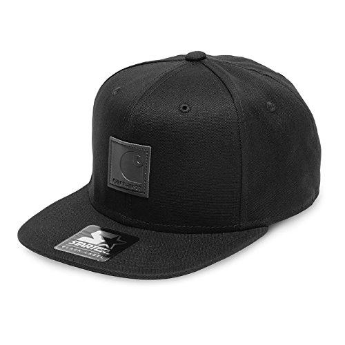 Carhartt - Logo Starter Cap - Black - Nero, Taglia Unica