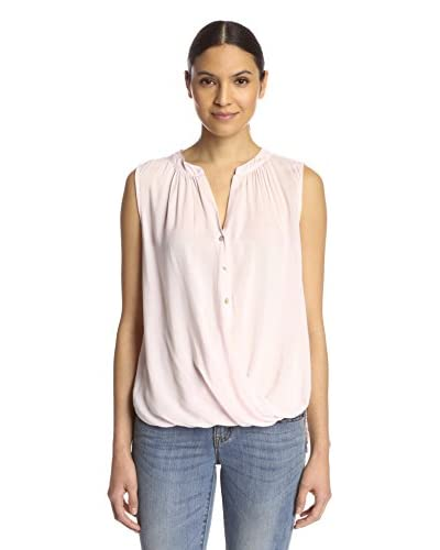 Velvet by Graham & Spencer Women's Draped Top with Buttons
