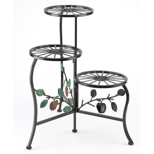 Gifts & Decor Country Apple Plant Stand Shelf