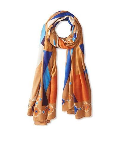 Theodora & Callum Women's Deer Valley Wearable Art Blanket Scarf, Beige