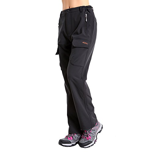 Clothin Women's Thicken Quick Dry Lightweight Waterproof Fle