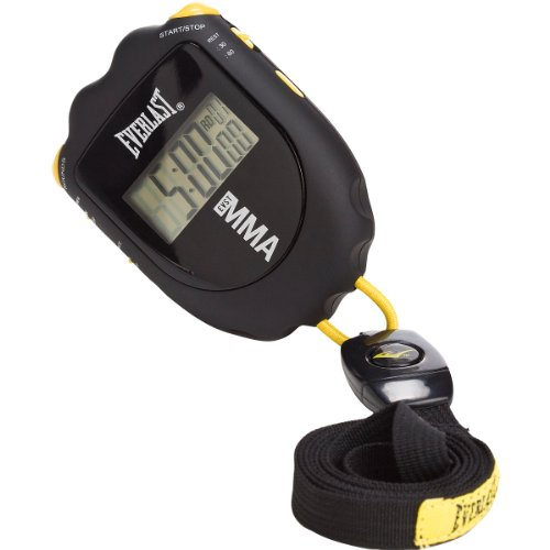 Everlast Mixed Martial Arts Round Timer (Black)