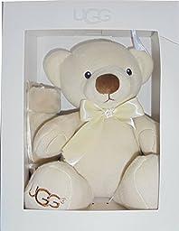 UGG Kids Unisex Snuggle Gift Set (Infant) Oatmeal One Size