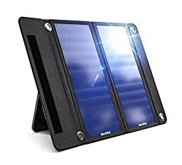 Wildtek SOURCE 15W Waterproof Portable Solar Charger Panel with Dual USB Ports