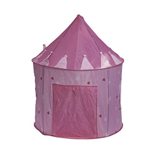 Pink Princess Tent Play Kids Outdoor Indoor Tunnel Pop Up House for Kid Children