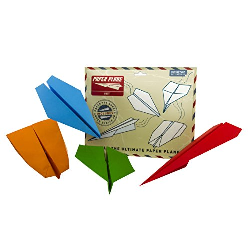 Desktop Distractions Paper Plane Set