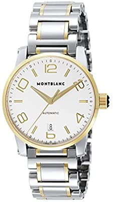 [Mont Blanc] MONTBLANC watch TIMEWALKER silver dial automatic winding stainless steel / stainless steel (YGPVD) 106502 Men's parallel import goods]