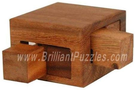 Picture of Fun Tricky Drawers Box - Wooden Brain Teaser Puzzle (B002P8PDDO) (Brain Teasers)