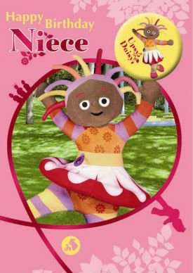 In the Night Garden - Niece Birthday Card With