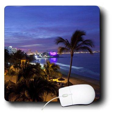 3dRose 8 x 8 x 0.25 Inches Mouse Pad, Resort, Playa Mazatlan, Sinaloa State, Mexico (mp_86641_1)