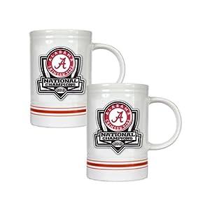 Amazon.com - BCS 2013 Champion Alabama Crimson Tide 2pc White/Red