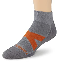 Timberland Mens 2 Pack Low Rider Socks, Charcoal, One Size