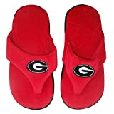 University of Georgia Bulldogs UGA Flip Flop Sandal Slippers