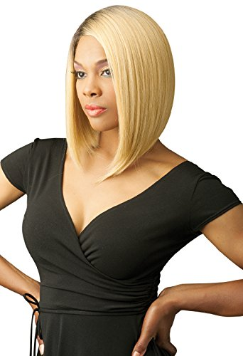 [New Born Free Synthetic Lace Front Wig Curved Part Magic Lace Mlc156 Color Number: 2] (Cornrow Wigs)