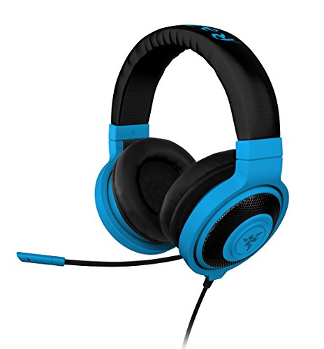 Razer Kraken Pro Over Ear Pc And Music Headset - Neon Blue