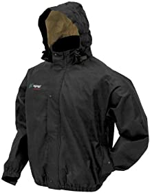 Frogg Toggs Bull Frogg Jacket , Distinct Name: Black, Primary Color: Black, Size: 3XL, Gender: Mens/Unisex PS63172-013X