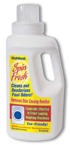 32 Oz Spin Fresh Cleans and Deodorizes Foul Odors in Front Loading Washing