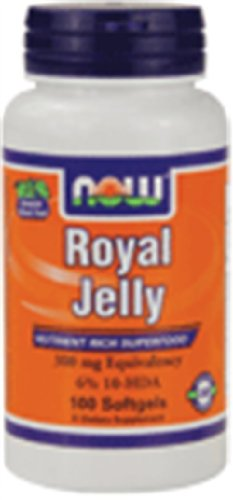 Royal Jelly 300 Mg 100 Softgel Now Foods