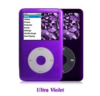 Shades iPod Classic 6G/7G Case, Skin – 80, 120, 160GB(2009 Model) – Ultra Violet