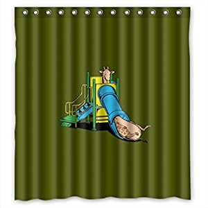 """... - MOMO Lovely naughty fawn Shower Curtain Measures 66""""(w) x 72""""(h"""