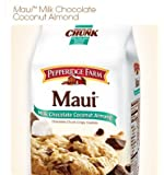Pepperidge Farm Maui Milk Chocolate Coconut Almond Crispy Cookies