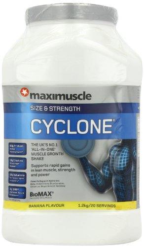 MAXIMUSCLE Cyclone (Size & Strength) 1.2kg, Banana