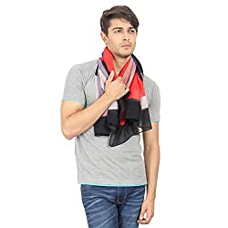 FabSeasons Multicolour Cotton Printed Multicolor Scarf, Scarves, Stole and Shawl for Men for all Seasons