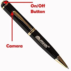 M MHB HD Quality Pen Camera Video/ Audio Hidden Recording,HD Sound Clearity Pen Camera (c) With 16gb memory.Original brand only Sold by M MHB.