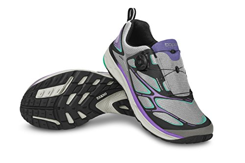 Topo Athletic Runduro Road Running Shoe - Women's Black/Amethyst 8.5
