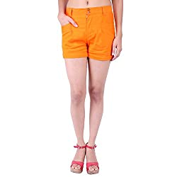 FBBIC Women's Casual Wear Bright Lycra Short