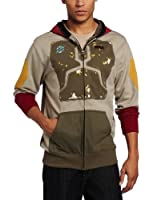 Star Wars Men's Darker Boba Fleece Hoodie