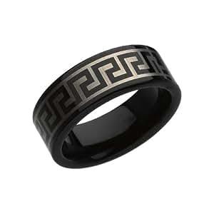 Black Tungsten Wedding Bands (8mm)