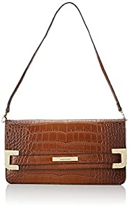 Anne Klein Hear Me Roar 60339085 Clutch,Sienna Brown,One Size