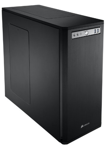Corsair Obsidian Series Black 550D Mid Tower Computer Case (CC-9011015-WW)