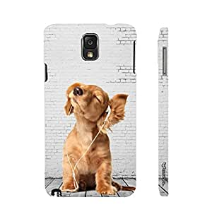 Enthopia Designer Hardshell Case Lost Puppy Back Cover for Samsung Galaxy Note 3
